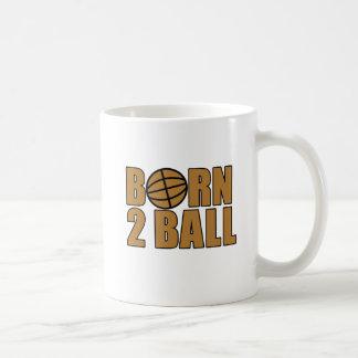 Bola nacida 2 tazas de café