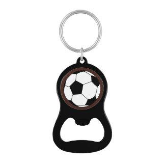 Bola negra/blanca del fútbol del fútbol en Brown