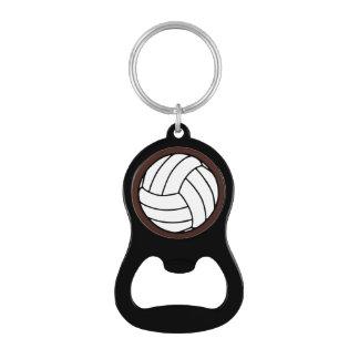 Bola negra/blanca del voleibol en Brown