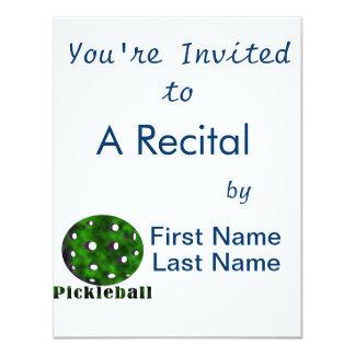 """bola nublada pickleball green.png del texto n invitación 4.25"""" x 5.5"""""""