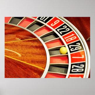 bola número 29 de la rueda de ruleta del casino qu impresiones