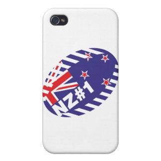 Bola NZ#1 de Rugy iPhone 4 Cobertura