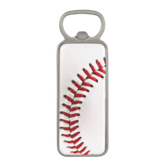 Bola original del béisbol abrebotellas magnético