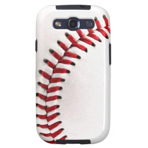 Bola original del béisbol galaxy s3 cobertura