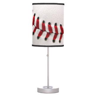 Bola original del béisbol lámpara de escritorio