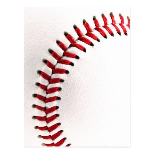 Bola original del béisbol postales