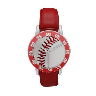 Bola original del béisbol relojes de mano