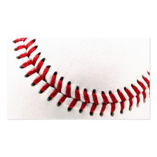 Bola original del béisbol tarjetas de visita