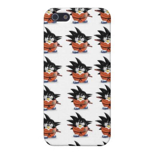 Bola P del pingüino iPhone 5 Carcasa