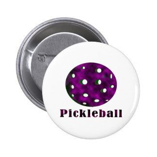 bola púrpura nublada pickleball .png del texto n pin
