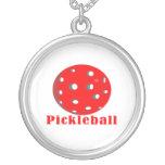 bola red.png del texto n del pickleball joyerías