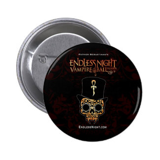Bola sin fin del vampiro de la noche: Fred Samedi Pin Redondo 5 Cm