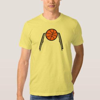 Bola T para hombre de la silla de ruedas Camisas