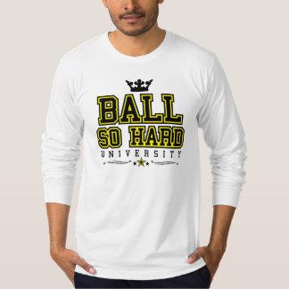 Bola tan difícilmente - negro y amarillo camisas