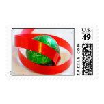 Bola verde, cinta roja envio