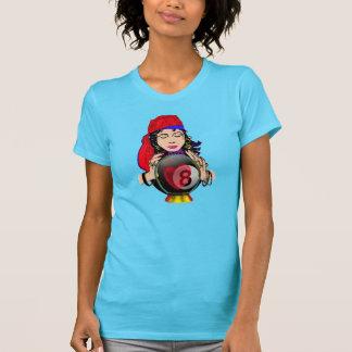 Bola w/Gypsy del cristal ocho Camiseta
