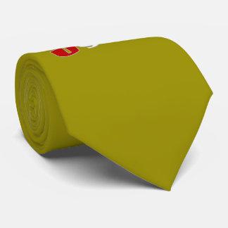 Bola y bandera de fútbol de los E.E.U.U. Corbatas Personalizadas