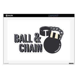 Bola y cadena portátil 43,2cm skins