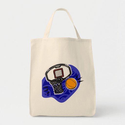 Bola y cesta bolsas de mano