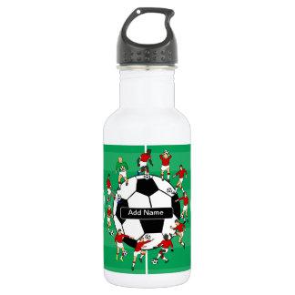 Bola y jugadores personalizados de fútbol