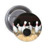 Bola y pernos de bolos: modelo 3D: Pin