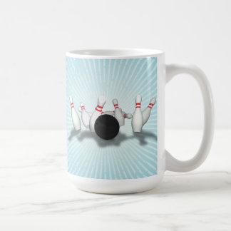 Bola y pernos de bolos: modelo 3D: Taza de café