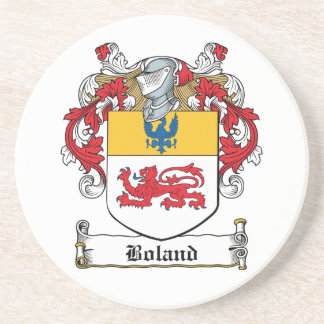 Boland Family Crest Drink Coaster