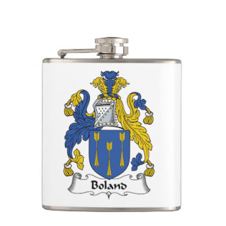 Boland Family Crest Flask