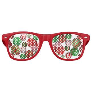 Bolas adaptables del navidad 3D Lentes De Fiesta