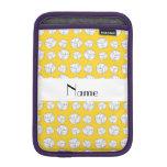 Bolas amarillas conocidas personalizadas del funda de iPad mini