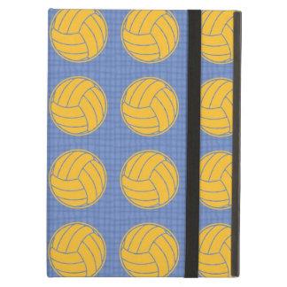 Bolas amarillas en fondo azul