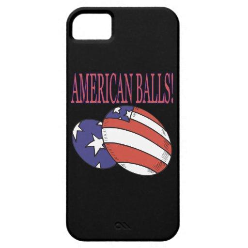 Bolas americanas iPhone 5 cárcasas