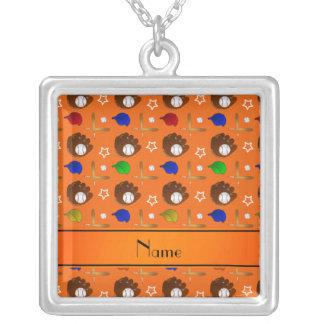 Bolas anaranjadas conocidas personalizadas de los pendiente personalizado