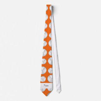 Bolas anaranjadas conocidas personalizadas del corbatas personalizadas