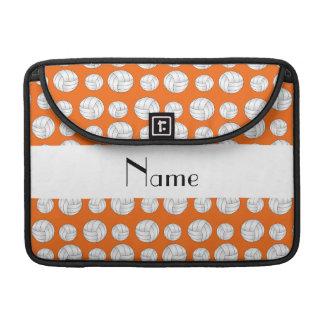 Bolas anaranjadas conocidas personalizadas del fundas para macbook pro