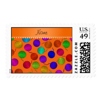 Bolas anaranjadas conocidas personalizadas del sello