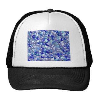 Bolas azules gorras