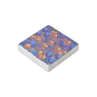 Bolas brillantes 3D Imán De Piedra