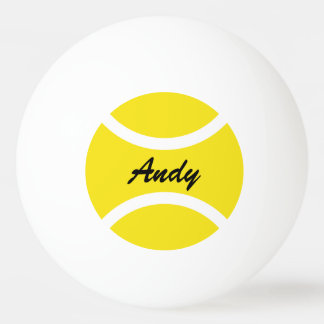 Bolas conocidas personalizadas de los tenis de pelota de ping pong
