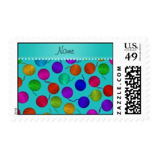 Bolas conocidas personalizadas del hilado del arco timbres postales