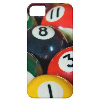 Bolas de billar funda para iPhone 5 barely there