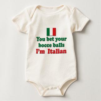Bolas de Bocce del italiano Body De Bebé