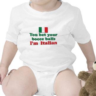 Bolas de Bocce del italiano Camiseta