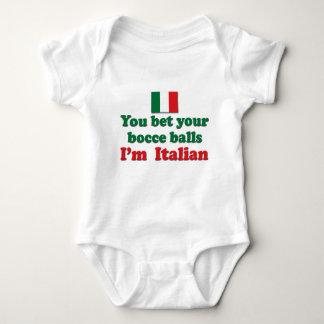Bolas de Bocce del italiano Tshirts