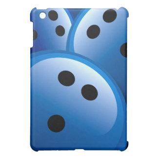Bolas de bolos azules