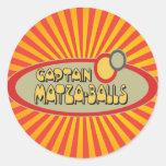 BOLAS de capitán MATZA Etiquetas