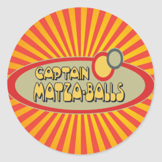 BOLAS de capitán MATZA Etiquetas Redondas