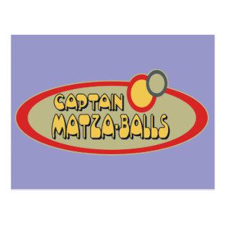 BOLAS de capitán MATZA Postal