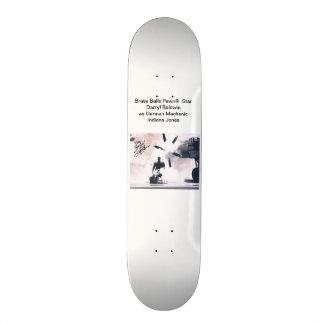 Bolas de cobre amarillo Pawn® Darryl Baldwin India Tabla De Skate
