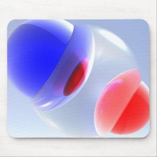 Bolas de combinación abstractas Mousepad Alfombrillas De Ratón